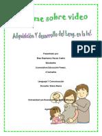 Informe Adquisicion Dsarrollo Lenguaje Inf