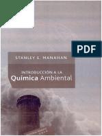 Introducción a La Química Ambiental - Stanley E. Manahan - 1ra Edición