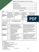 backward planning document travel lynette