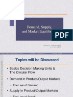 Chapter 3 Demand, Supply and Market Equilibrium