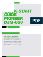 Pioneer Djm-850 Qsg