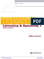 Cambridge English Skills Real Listening Indice