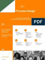 Agile Process Design