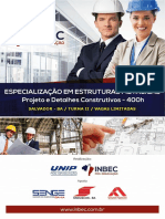 Especialização Em Estruturas Metálicas - Turma II - Inbec - Ba