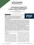 Cross Dehydrogenative Coupling