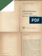 German Carrera Damas - Metodologia de La Historia