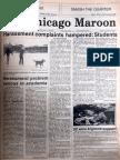 Chicago Maroon - January 22, 1982