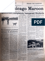 Chicago Maroon - January 22, 1982
