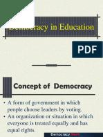 Democracy in Education