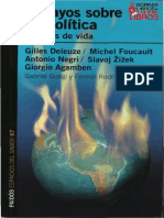 Giorgi & Rodríguez - Ensayos Sobre Biopolítica. Excesos de Vida