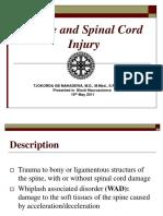 DAY 10 Spine Injury