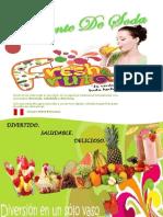 Carta de Fresh Fruta Lista