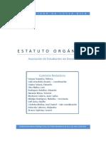 Estatuto Orgánico - Asociación de Estudiantes de Derecho de la Universidad de Costa Rica