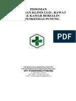 7.6.1 Ep 1 Pedoman Layanan Klinis Ugd & Rawat Inap Upt Puskesmas Punung (1)