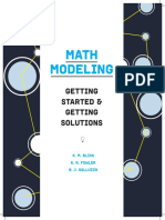 Introduction to Modelling