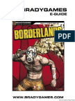 Borderlands BradyGames Official Strategy Guide