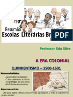 História Da Literatura - PRINCIPAL
