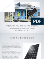 Timeport Alternative Energy