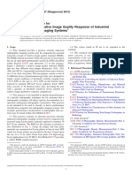 ASTM E746-07(2014) Standard Practice for Determining Relative Image Quality Response of Industrial Radiographic Imaging Systems