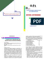 Cuestionario Modificado de Agresividad Buss Durkee