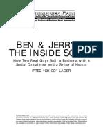 Ben & Jerry's -- The Inside Scoop.pdf