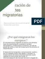 Presentacion Migraciones Europeas u3 EAD