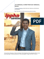 Motivator Papan Atas Indonesia, Artikel Motivator Indonesia, Ahli Motivator Indonesia