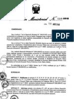 Resolucion Ministerial 0248-2010ed