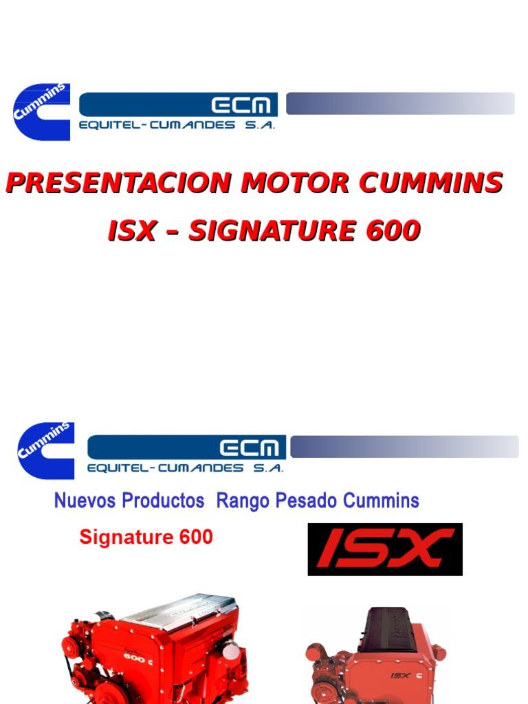 presentacion motor isx.ppt on
