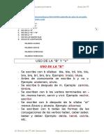 Reglas de Ortografía Letra Escolar 1