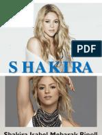 Shakira - Expo en ingles - Heidy C..pptx
