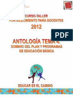 Antologia Tema 4 F