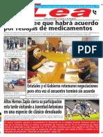 Periódico Lea Jueves 22 de Marzo Del 2018