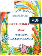 CARPETA PEDAGOGICA
