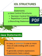 Java Control Structure