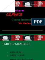Presentation on Olper's