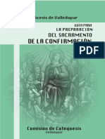 Cartilla Confirmacion católica