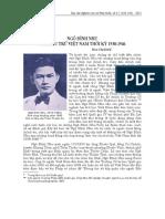 Ngô Đình Nhu - Nhà Lưu Trữ Việt Nam Thời Kỳ 1938-1946 - Đào Thị Diễn