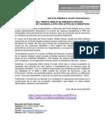 A INICIATIVA DEL FRENTE AMPLIO SE PRESENTA MOCIÓN MULTIPARTIDARIA DE VACANCIA A PPK POR ACTOS DE CORRUPCIÓN