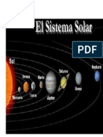 Sistema Solar (Los Planetas)