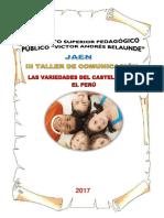 Los Variedades Del Castellano Del Perú