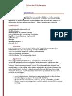 tiffany dewalt assistant principal resume weebly