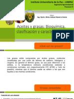 Bioquímica de Lípidos y Plantas Oleaginosas