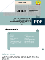 Ppt Presus Difteri