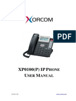 Xp0100(p) User Manual