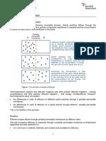 Rate of Passive Diffusion