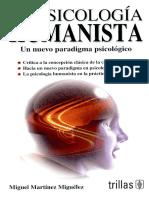La Psicologia Humanista