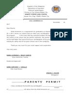 Parents Permit