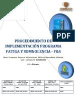 241281629 Procedimiento de Implementacion Programa Fatiga y Somnolencia