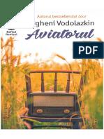 365547723 Evgheni Vodolazkin Aviatorul